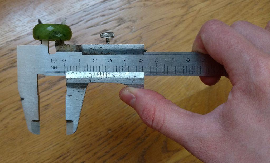 Suwmiarka - Pomiar wymiarów wewnętrznych